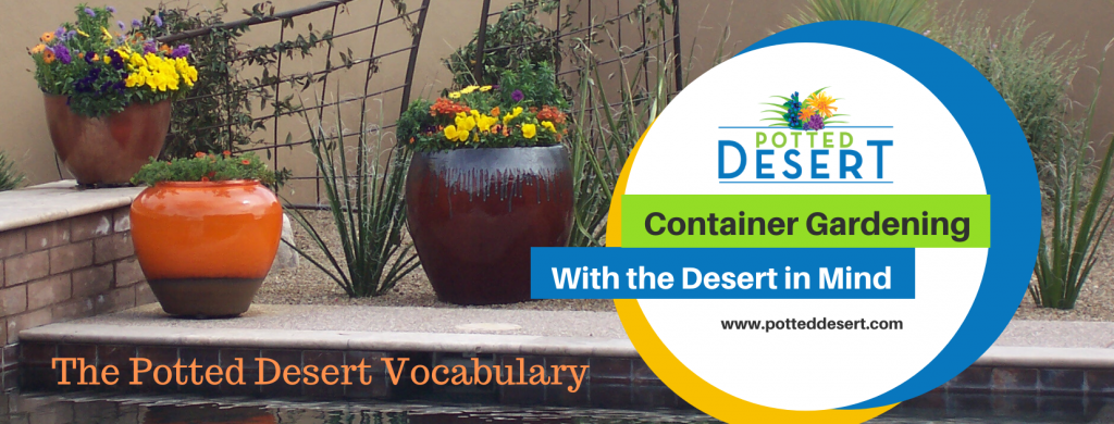 The Potted Desert Vocabulary